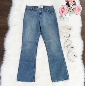 LEVI STRAUSS STRETCH MID RISE BOOTCUT JEANS